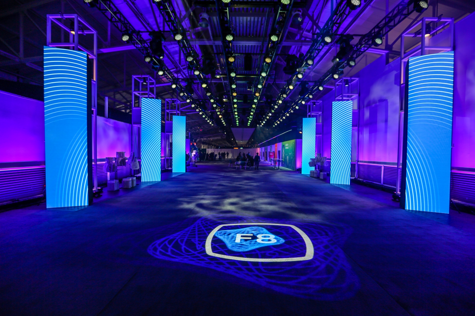 Seeing eye lighting design chooses 4wall las vegas for facebook the lds main objective with his lighting fixtures was to create a singular cohesive look and feel in all the occupied areas of the venue aloadofball Gallery
